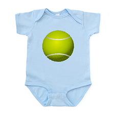 Fuzzy Tennis Ball Infant Bodysuit