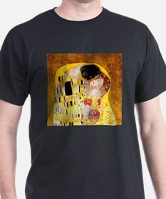 The Kiss by Klimt T-Shirt