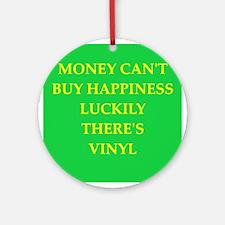 vinyl Ornament (Round)