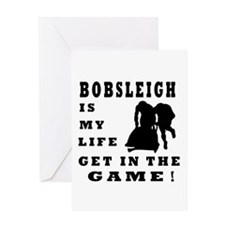 Bobsleigh Is My Life Greeting Card