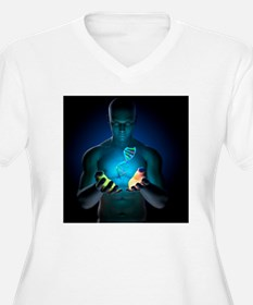 Genetic research, conceptual artwork - T-Shirt