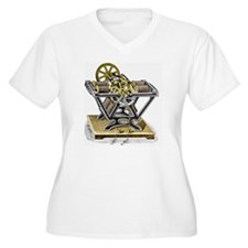 Early electric motor, 1834 - T-Shirt