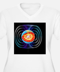 Earth's magnetic field - T-Shirt