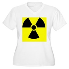 Radiation warning sign - T-Shirt