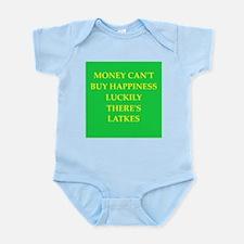 latkes Infant Bodysuit