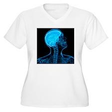 Head anatomy, artwork - T-Shirt