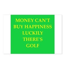 golf Postcards (Package of 8)