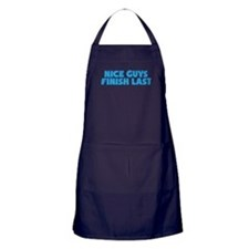 Nice Guys Finish Last Apron (dark)