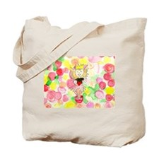 Flower Heart Princess Tote Bag
