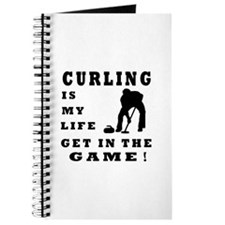 Curling Is My Life Journal