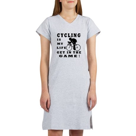 Cycling Is My Life Women's Nightshirt