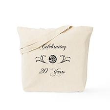 20th Anniversary (b&w) Tote Bag