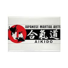 Aikido 2 Rectangle Magnet
