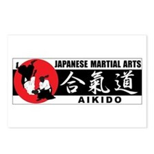 Aikido 2 Postcards (Package of 8)