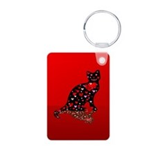 Cat Love Keychains