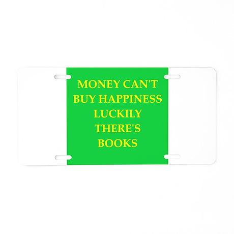 books Aluminum License Plate