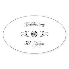 30th Anniversary (b&w) Decal