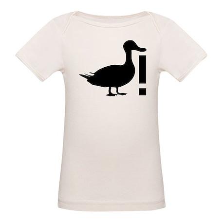 Duck! Organic Baby T-Shirt