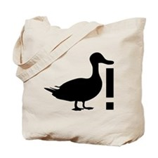 Duck! Tote Bag