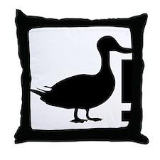 Duck! Throw Pillow