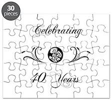 40th Anniversary (b&w) Puzzle