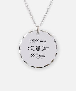 60th Anniversary (b&w) Necklace