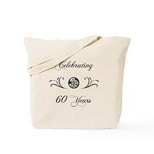 60th Anniversary (b&w) Tote Bag
