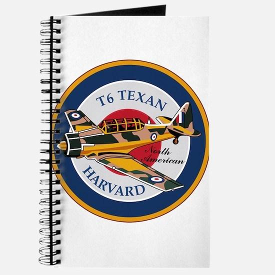 T6 Texan Harvard North American Abzeichen Journal
