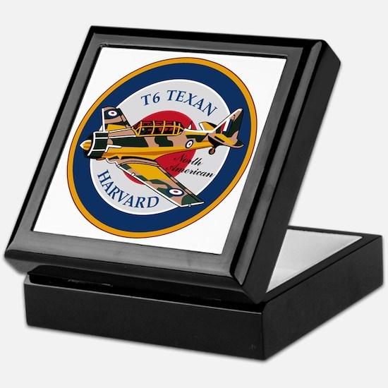 T6 Texan Harvard North American Abzeichen Keepsake