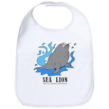 Cute Sea lion Bib