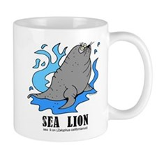 Unique Sea lion Mug