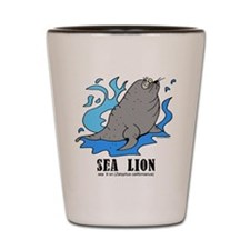 Cute Sea lion Shot Glass