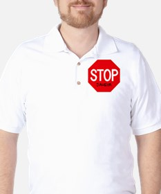 Stop Jaheim Golf Shirt
