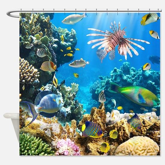 Sea Life Shower Curtain