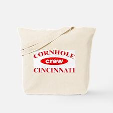 Cornhole Crew Cincinnati Tote Bag