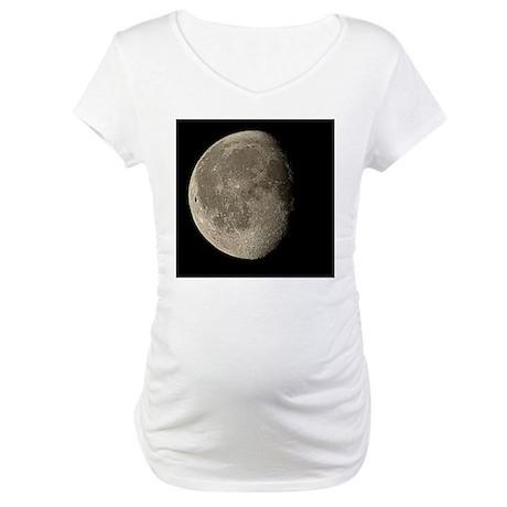 Waning gibbous Moon - Maternity T-Shirt