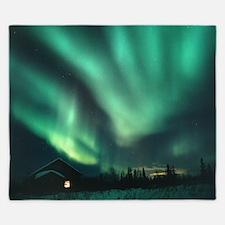 Aurora borealis - King Duvet