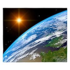 Earth, artwork - King Duvet