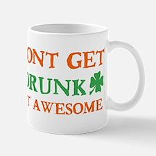 Irish awesome drinking designs Mug