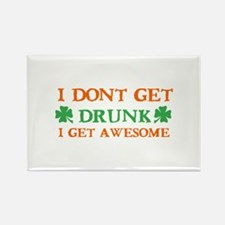 Irish awesome drinking designs Rectangle Magnet