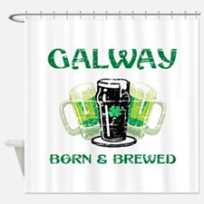 Galway Ireland Designs Shower Curtain