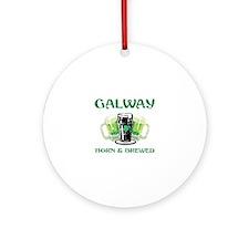 Galway Ireland Designs Ornament (Round)
