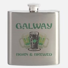 Galway Ireland Designs Flask