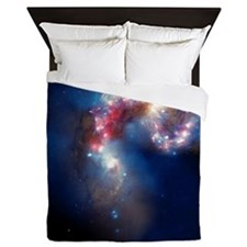 Antennae galaxies, composite image - Queen Duvet