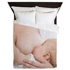 Breastfeeding - Queen Duvet