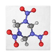 RDX explosive molecule - Queen Duvet