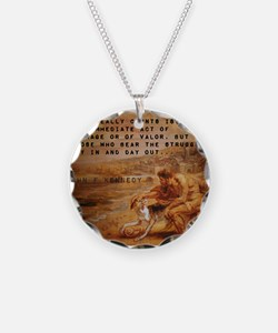 What Really Counts - John F Kennedy Necklace