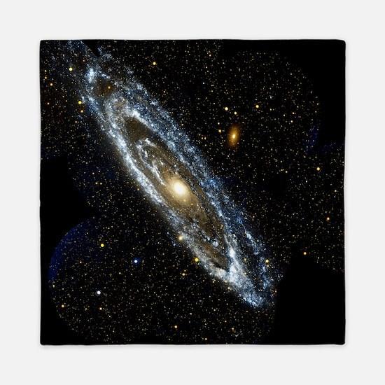 Andromeda Galaxy, UV image - Queen Duvet