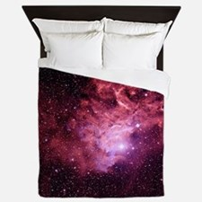 Flaming Star Nebula - Queen Duvet
