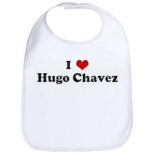 I Love Hugo Chavez Bib